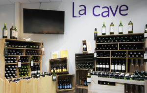 Espace cave à vins poisssonnerie Albi