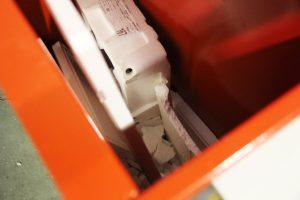 Compacteuse à polystyrène pour recyclage