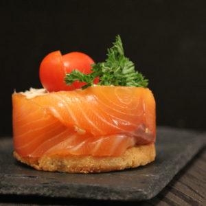 vente en ligne de produits traiteur - poissonnerie albi - charlotte saumon frais, saumon fumé