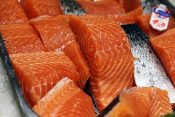 Pavé de saumon Label Rouge, vente de pavé de saumon - vente de poisson frais sur albi - vente en ligne poissonnerie Morin Marée Albi