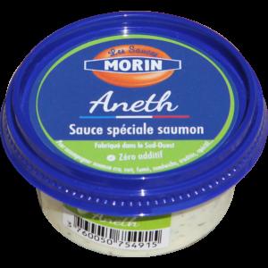"""Sauce aneth """"Les Sauces morin"""", vente en ligne de poissonns frais, plateaux de fruits de mer et accompagnements, retrait des commandes en points relais sur Albi et alentours"""
