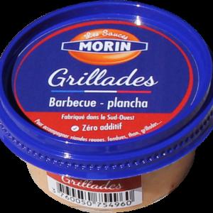 Sauce grillades 60g Les Sauce Morin - sauce traditionnelle base mayonnaise pour accompagner apéritifs, crudités viandes rouges, fondues, thon, grillades et planchas - grillades