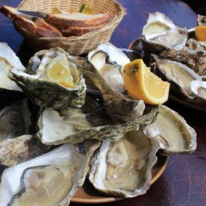 Huîtres fines de Cancale N°3, vente en ligne de bourriches d'huîtres - poissonnerie Morin marée Albi
