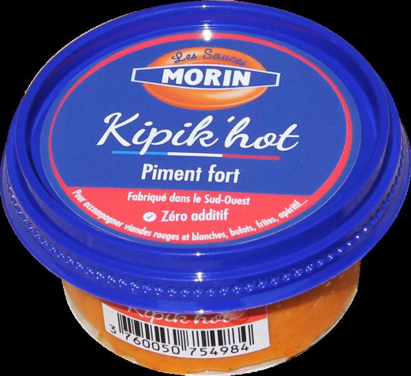 "Sauce Kipik'hot ""Les Sauces Morin"", vente en ligne poissonnerie Morin Marée Albi"