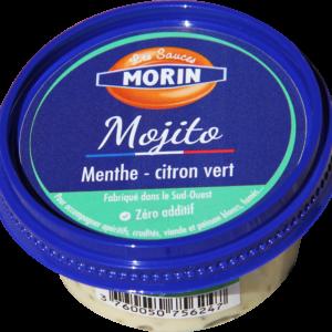 """Sauce mojito """"Les Sauces Morin"""", vente en ligne de poissonns frais, plateaux de fruits de mer et accompagnements, retrait des commandes en points relais sur Albi et alentours"""