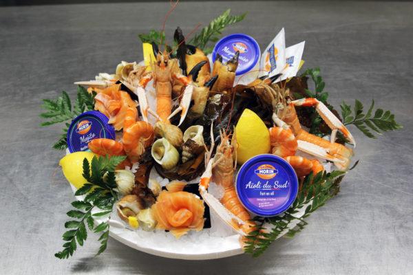 """Plateau de fruit de mer """"Le Catamaran"""" - Poissonnerie Morin marée Albi"""