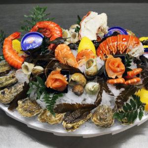 """Plateau de fruits de mer """"Le Christmas"""", vente en ligne de plateaux de fruits de mer personnalisés ou déjà conditionnés"""