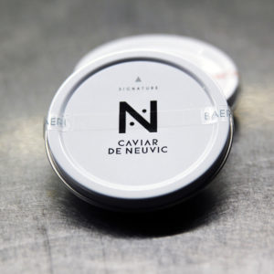 Caviar de Neuvic en vente en ligne sur le site de la poissonnerie Morin Marée à Albi