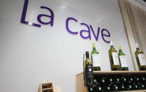 Cave à vins à la poissonnerie Morin Marée à Albi