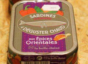 Fournisseurs de la poissonnerie - Sardines chaudes La Belle Iloise