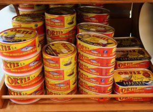 Conserverie Ortiz - sardines, thon...